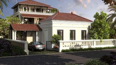 Luxury Villas Exterior Goa India