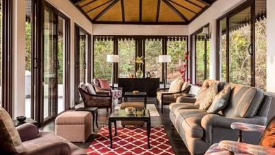 Luxury Villas Living Room Goa India