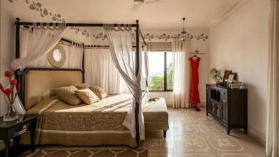 Luxury Villas Bed Room Goa India