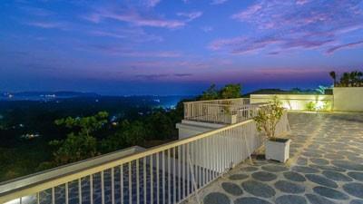 Luxury Villas Terrace Goa India