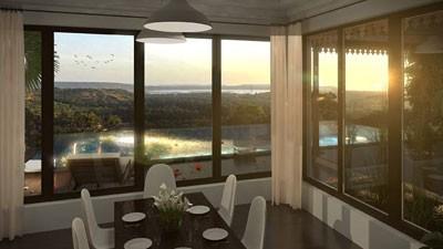 Stunning Hill Villas Interior