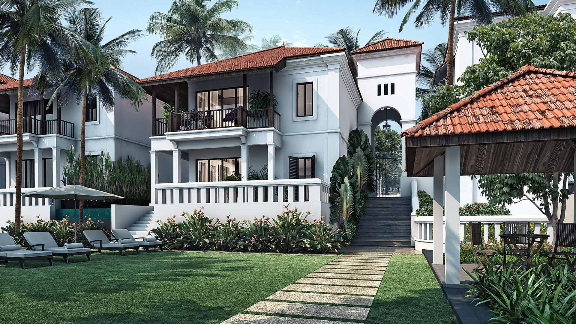 Boutique villas for sale in Goa