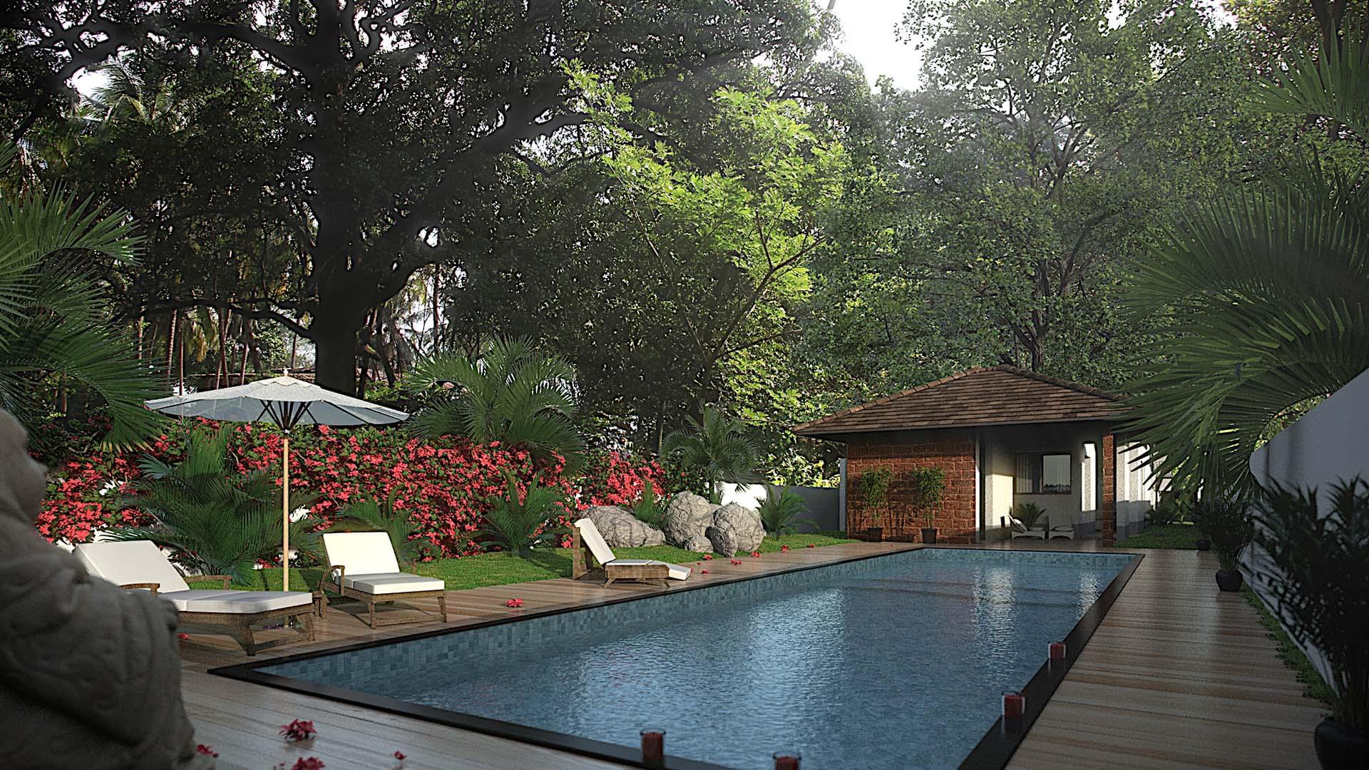 Banyan Beach House Boutique Villas Goa India
