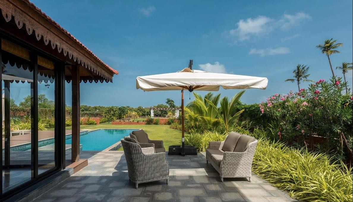 Villa In Goa With Private Pool