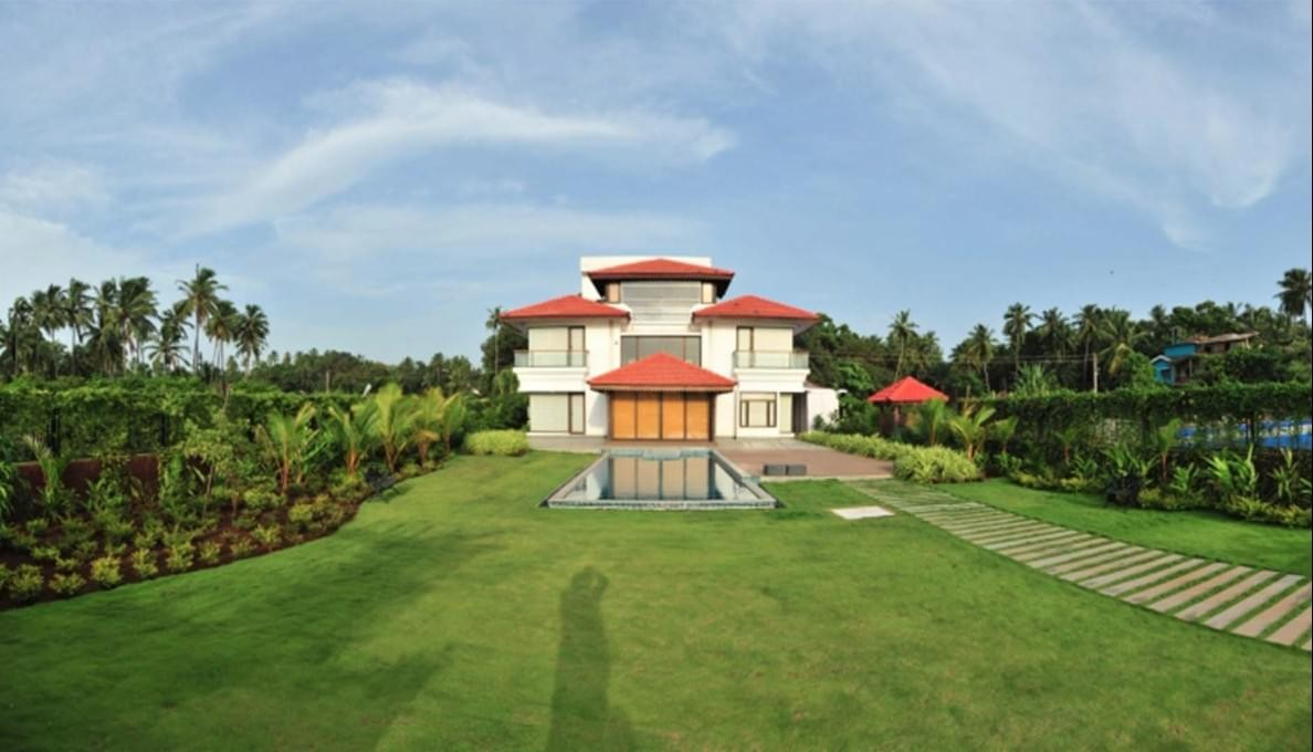 Villa With Private Pool In Goa