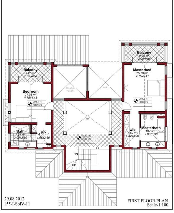 Floor Plan for Villas with Swimming Pool in Goa