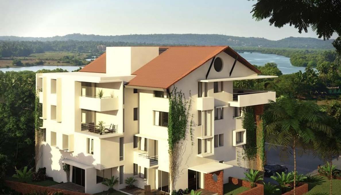 Saipem Foothills Apartment Goa