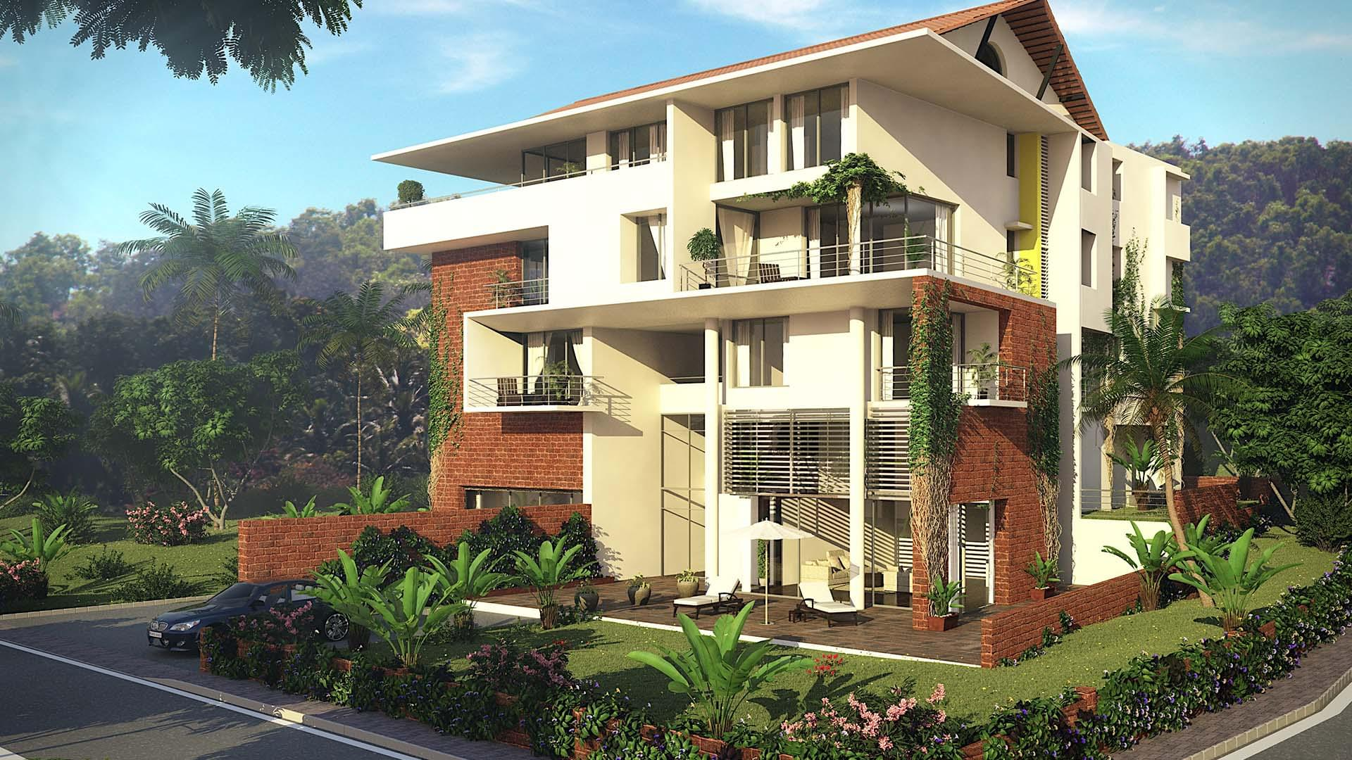 Saipem Foothills Luxury Apartments Goa