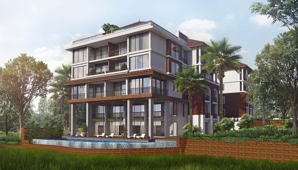 Sol Banyan Luxury Apartments from Sun Estates