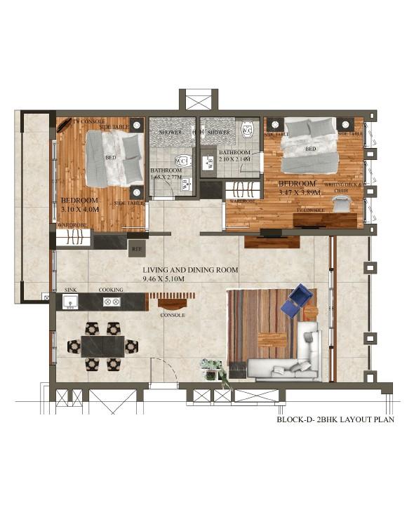 Apartments in Candolim Goa