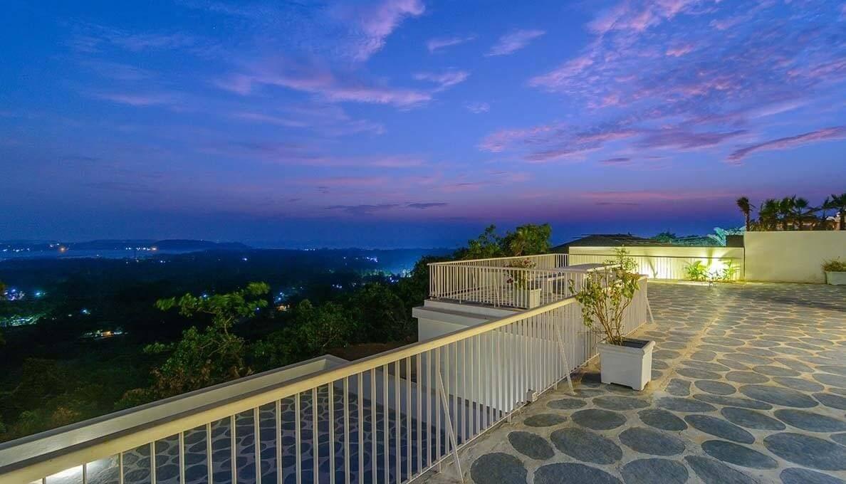 Morjim Luxury Villas Terrace