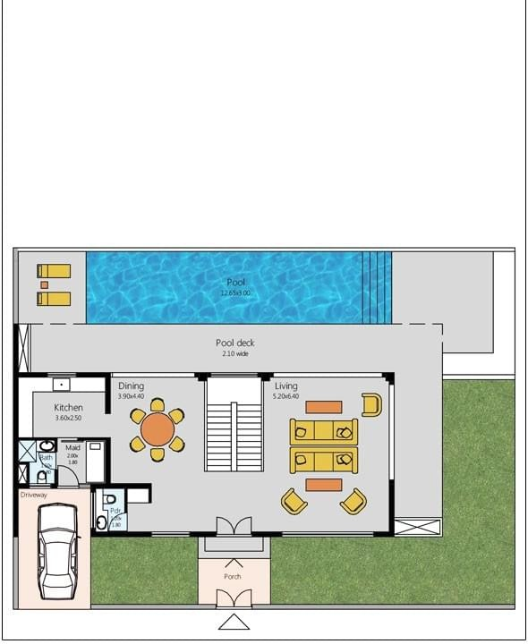 Luxury Villas Floor Plan