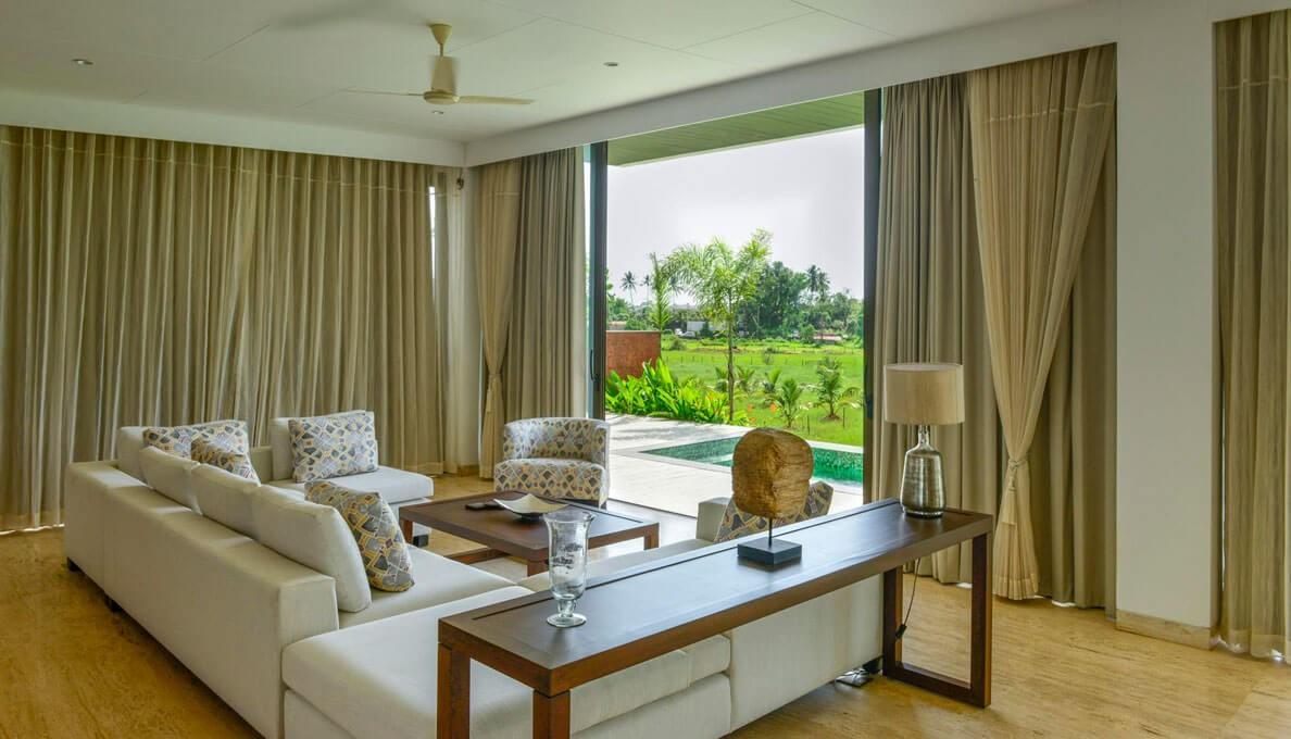Sohonos Luxury Villas Living Room