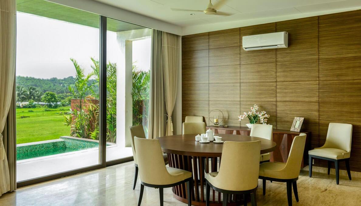 Sohonos Luxury Villas Dining Room