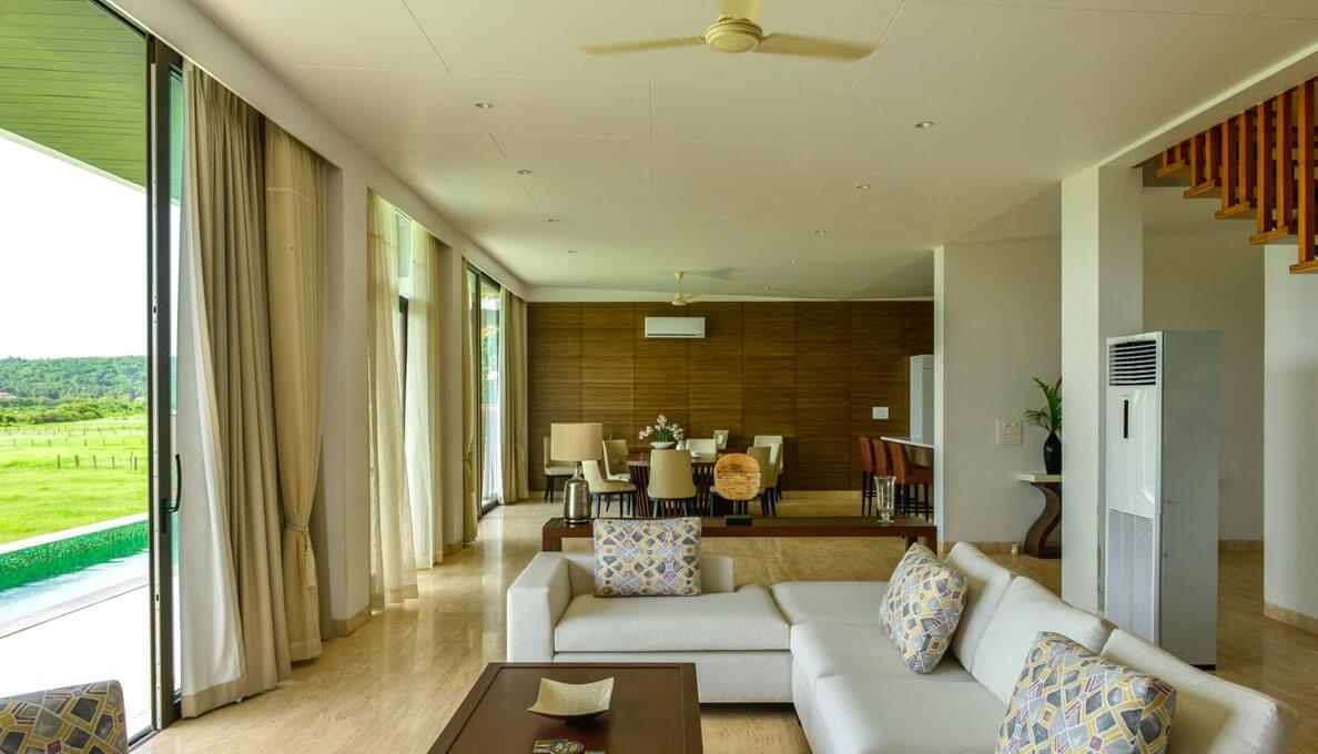 Sohonos Luxury Villas Entrance
