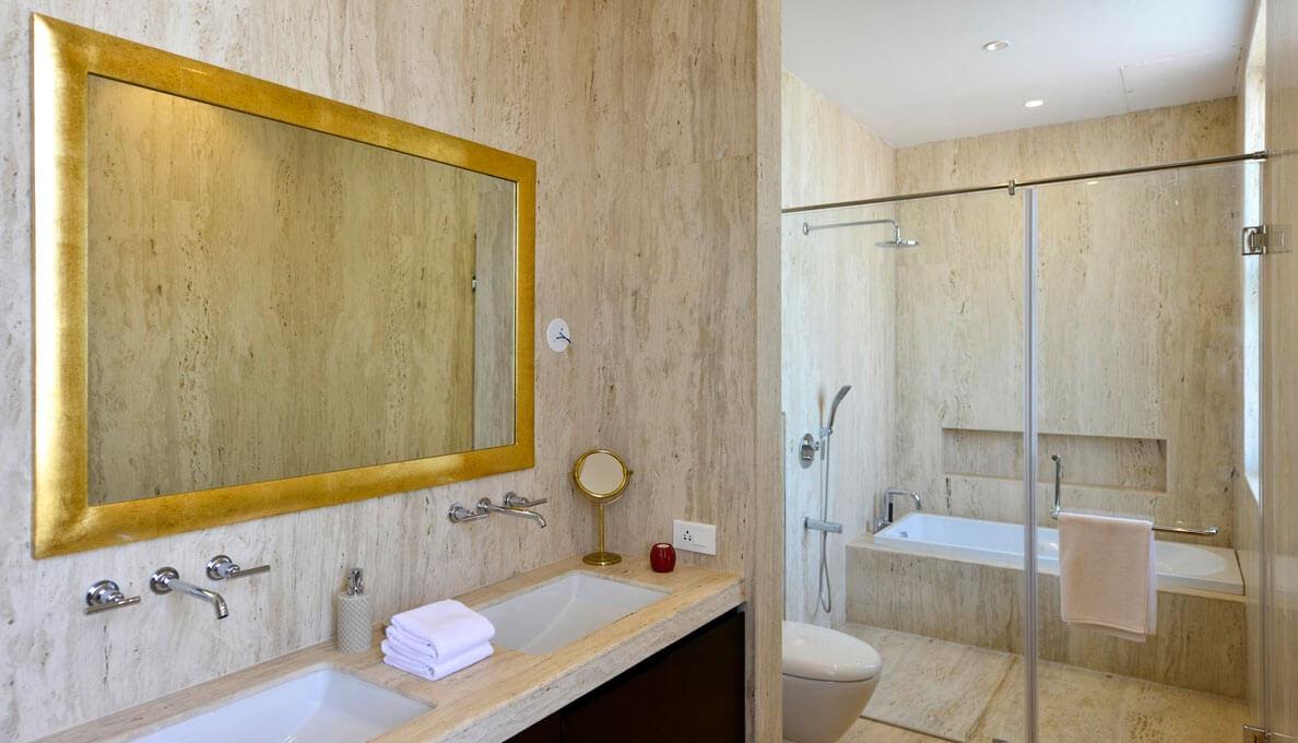 Sohonos Luxury Villas Bath Room