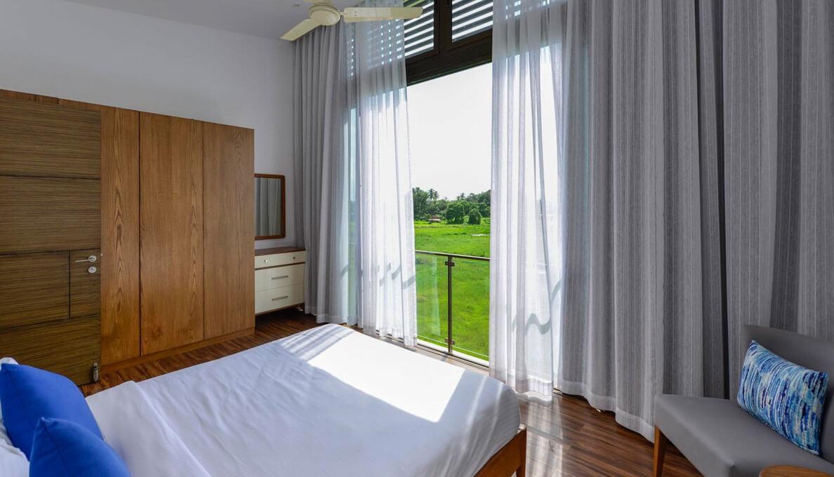 Sohonos Luxury Villas Bed Room Balcony