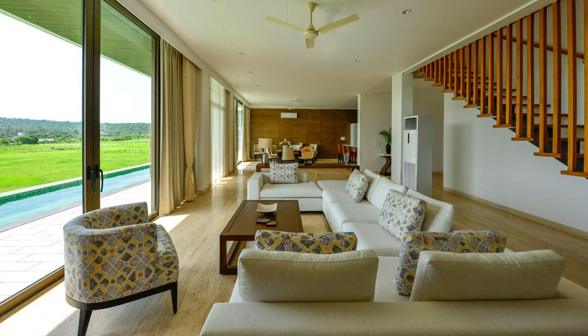Sohonos Luxury Villas Hall Way