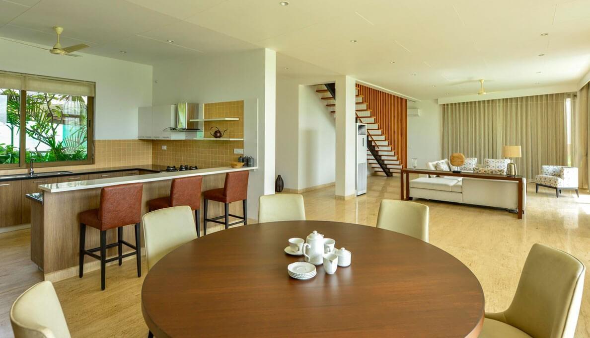 Sohonos Luxury Villas Kitchen