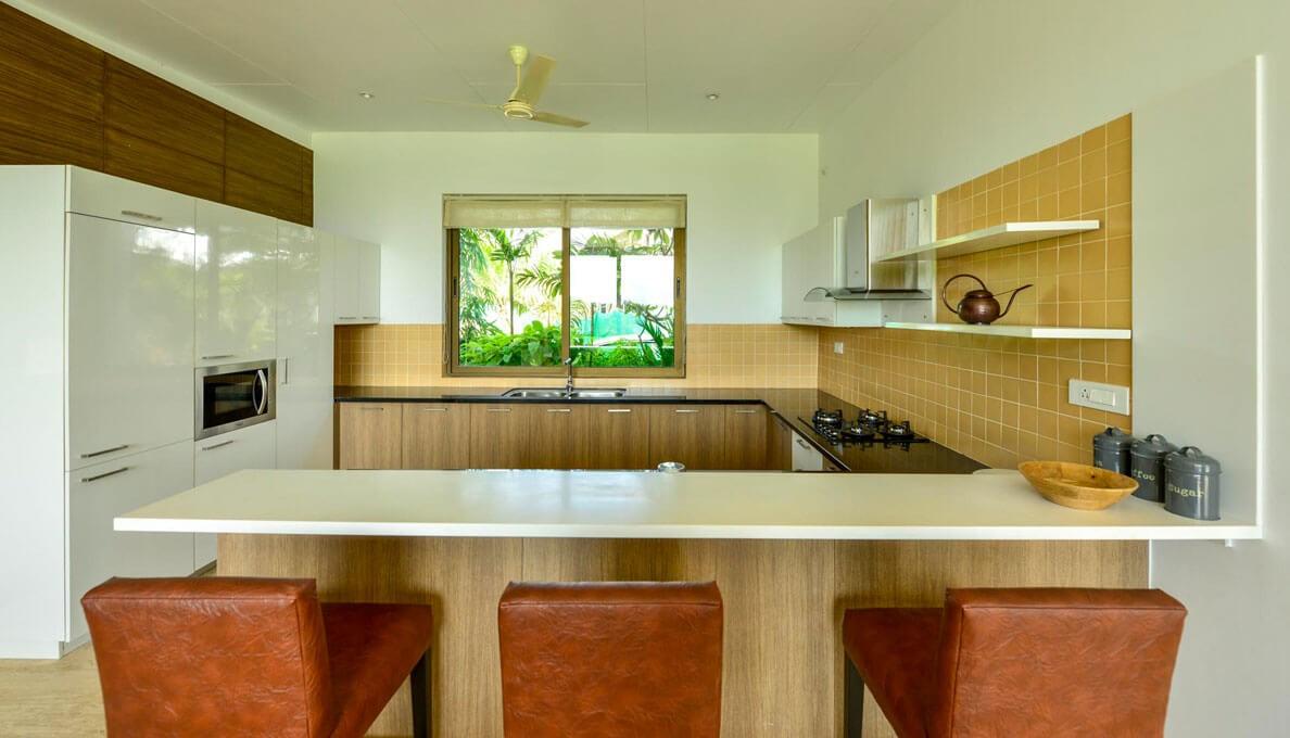 Sohonos Luxury Villas Modular kitchen