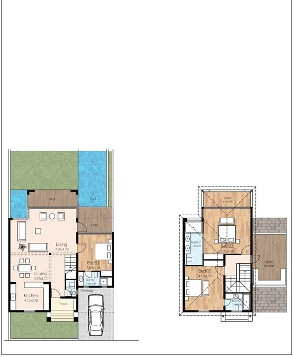 Sol Banyan Luxury Villas Floor Plan