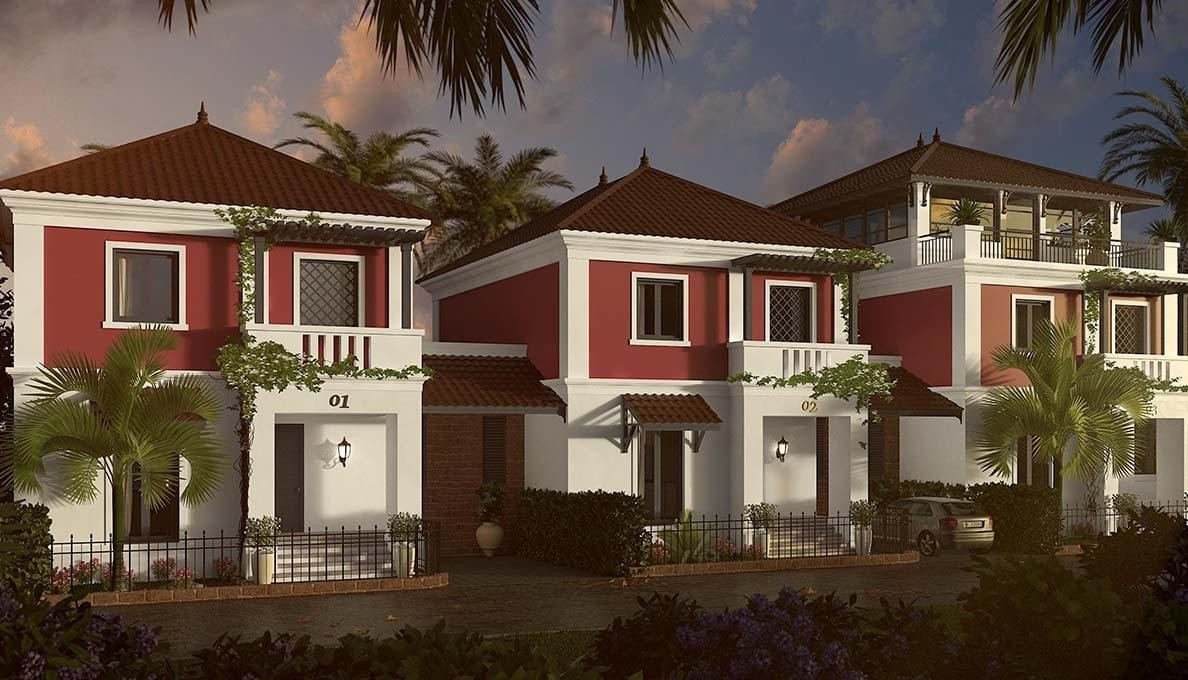 Luxury Villas with Pool in Goa